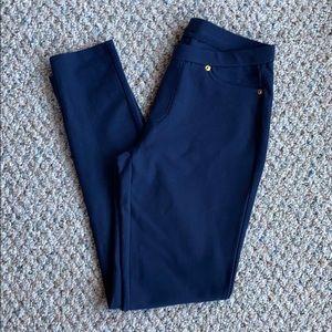 Michael kors navy blue Ponte pants